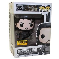 Funko Pop Game of Thrones Jon Snow Exclusive Muddy Vinyl Fig
