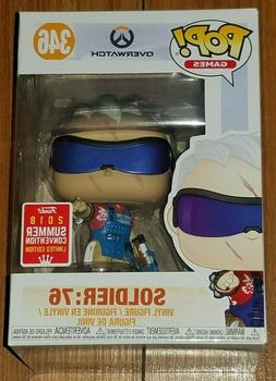 Funko Pop Games #346 Soldier 76 Overwatch SDCC Shared Exclus