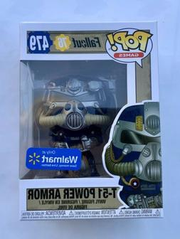 Funko Pop! Games Fallout 76 Bethesda T-51 Power Armor 479 Wa