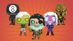 Funko POP! Games Fortnite Chapter 2 - 5pc Set - NEW - IN STO