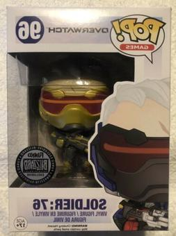 🔥 Funko Pop! Games Overwatch Golden Soldier 76 Blizzard E