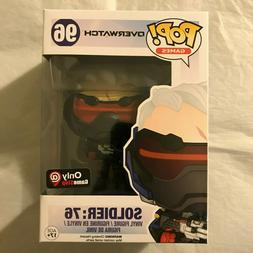 Funko Pop! Games Overwatch Soldier 76 #96 Gamestop Exclusive