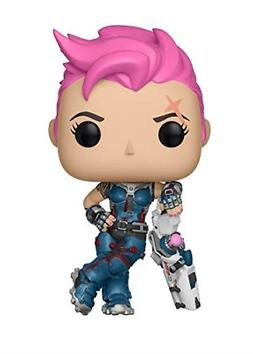 Pop Games: Overwatch-Zarya, Multicolor for Grown-Up Action &