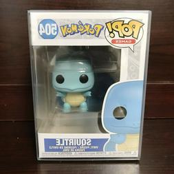 Funko Pop Games : Pokemon : Squirtle #504 Vinyl w/0.5mm Case