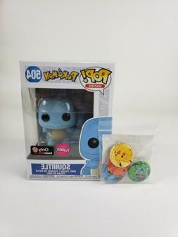 Funko Pop! Games Pokemon Squirtle  GameStop Exclusive Figure