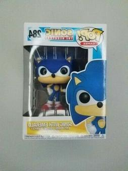 Funko Pop Games Sonic The Hedgehog Sonic With Emerald 284 Vi