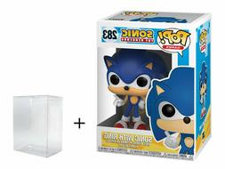 Funko Pop! Games - Sonic the Hedgehog with Ring #283 - w/ Ca