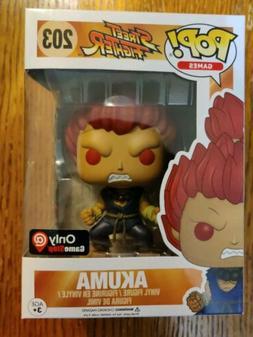 Funko Pop! Games Street Fighter Akuma 203 GameStop Exclusive