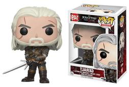 Funko POP Games: The Witcher-Geralt Action Figure  #149