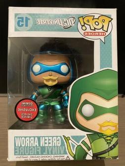 Funko Pop Gemini Exclusive DC Universe Metallic Green Arrow