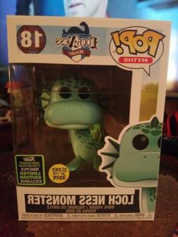 Funko Pop! GITD Loch Ness Monster Myths 18 LE 1500 ECCC Excl
