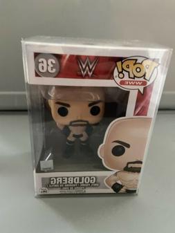 FUNKO POP GOLDBERG BILL WWE VINYL FIGURE W/PROTECTOR VAULTED