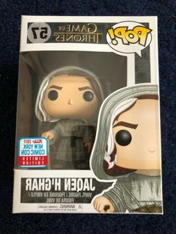 Funko Pop GOT Jaqen H'ghar NYCC 2017 Limited Edition Sticker