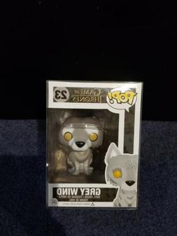 Funko Pop Grey Wind Game of Thrones Wolf 7-11 Exclusive RARE