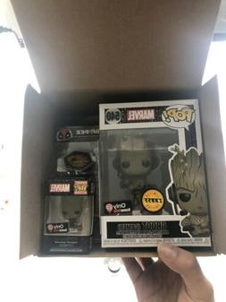 Funko Pop Groot 540 Gamer Chase Gamestop Black Friday Box Sh