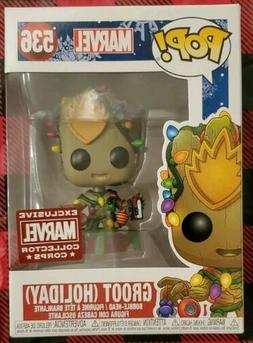 FUNKO POP BABY GROOT HOLIDAY CHRISTMAS TREE MARVEL COLLECTOR