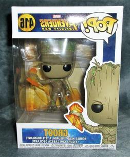 Funko Pop, Groot with Stormbreaker, Marvel Avenger's Infinit