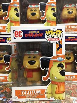 Funko Pop Hanna Barbera Wacky Races Muttley #39 Vaulted