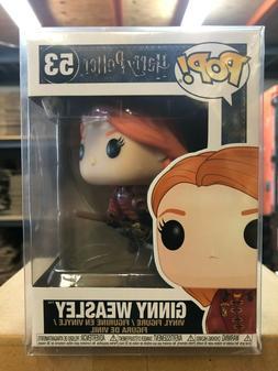 pop harry potter ginny weasley vinyl figure