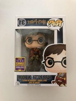 Funko Pop! Harry Potter On Broom #31 2017 SDCC Exclusive
