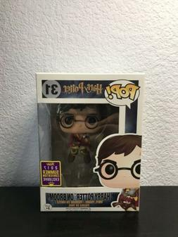 Funko Pop! Harry Potter on Broom #31 2017 SDCC Official Stic