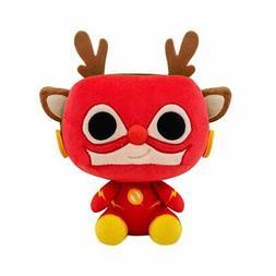 Funko POP! Heroes DC Holiday Reindeer Flash Plush Figure