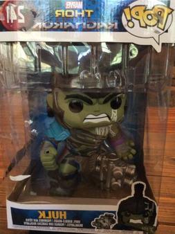 "Funko Pop Hulk 10"" Inch #241 Thor Bobble-Head Ragnarok Aveng"