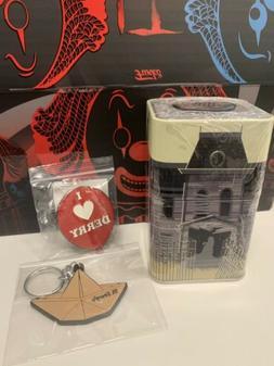 Funko Pop IT 2 Hot Topic Box S.S. Georgie Keychain I <3 Derr