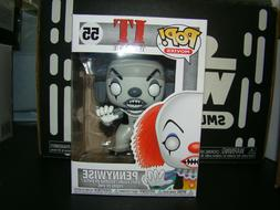 FUNKO POP IT PENNYWISE BLACK AND WHITE #55 EXCLUSIVE