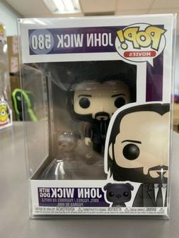 Funko Pop! John Wick with Dog Keanu Reeves Movies w/ Protect