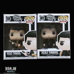 Funko Pop! Johnny Cash Man In Black Folsom Prison Set Rocks
