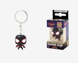 Funko Pop Keychain: Animated Spider-Man Movie - Miles Morale