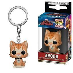 Funko Pop! Keychain - Captain Marvel - Goose The Cat