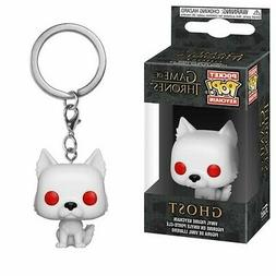 FUNKO POP! KEYCHAIN: Game of Thrones - S9 - Ghost  Vinyl Fig