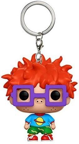 Funko Pop Keychain: Rugrats - Chuckie Vinyl Figure Keychain
