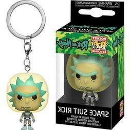 Funko Pop! Keychains: Rick and Morty - Space Suit Rick Vinyl