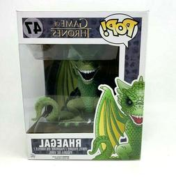 Funko Pop Large 6 inch Rhaegal #47 Game of Thrones  Dragon G