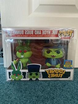 Funko Pop! Looney Tunes Mr. Hyde and Bugs Bunny 2-Pack SDCC