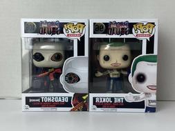 FUNKO POP Lot SUICIDE SQUAD #96 The Joker &  FUNKO POP #106
