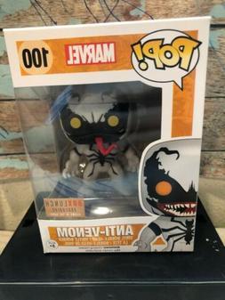 Funko Pop Marvel #100 Anti Venom Glow in The Dark Box Lunch