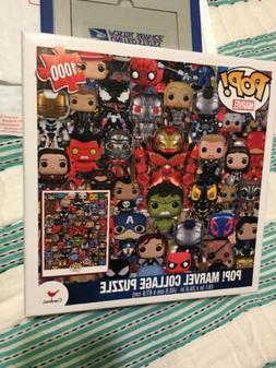 Funko POP! Marvel 1000 Piece Puzzle 19x27 Inch Sealed Box Br