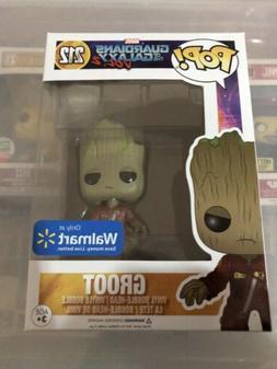 Funko Pop Marvel #212 Groot Guardians of The Galaxy Vol 2 Wa