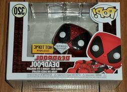 Funko Pop Marvel #320 Deadpool Diamond Collection Hot Topic