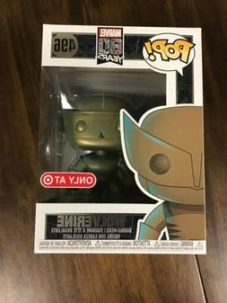 Funko Pop! Marvel 80th Wolverine Patina #496  Target Exclusi