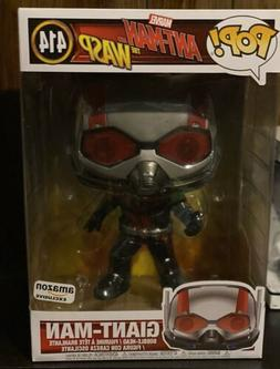 "Funko Pop! Marvel Ant-Man and the Wasp 10"" Inch Giant-Man 41"