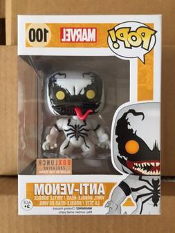 Funko Pop! Marvel Anti-Venom #100 Glow in the Dark Box Lunch