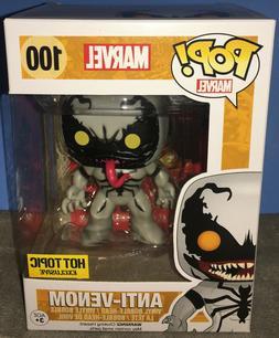 Funko Pop! Marvel Anti-Venom #100 w/Protector Hot Topic Spid