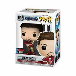 Funko Pop! Marvel Avengers Endgame Iron Man Gauntlet NYCC 20