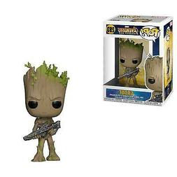 Funko Pop Marvel: Avengers Infinity War-Teen Groot with Gun