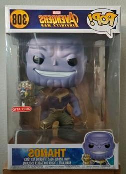 """Funko Pop! Marvel Avengers Infinity War THANOS 10"""" Inch Targ"""
